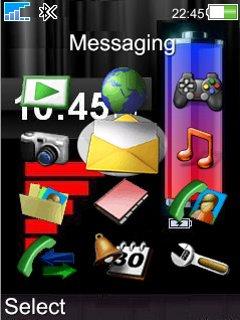 Battery Clock - скриншот 2