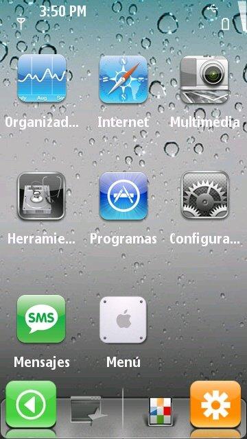 Spb Mobile Shell В Стиле Андроид Для Нокия 5230
