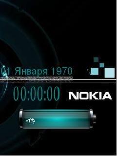 Nokia Clock - скриншот 1