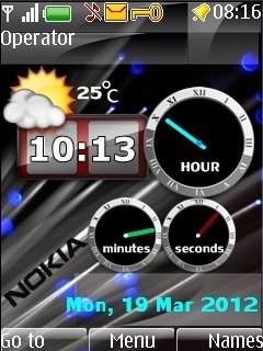 Super Nokia Clocks - скриншот 1