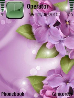 Purple Flowers - скриншот 1