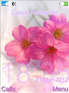 Pink Flowers - скриншот 1