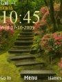"""Темы  """"Зеленые и салатовые """" для Nokia 7230."""