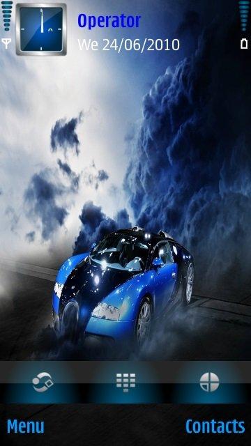 Blue car - скриншот 1