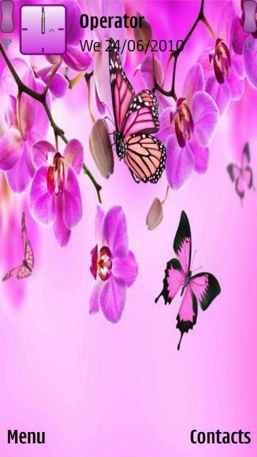 Purple butterflies - скриншот 1