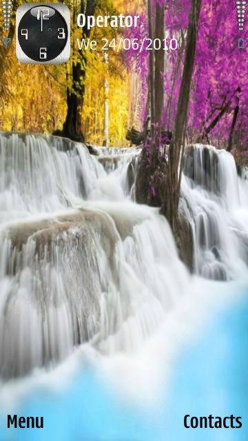 Colorful waterfall - скриншот 1