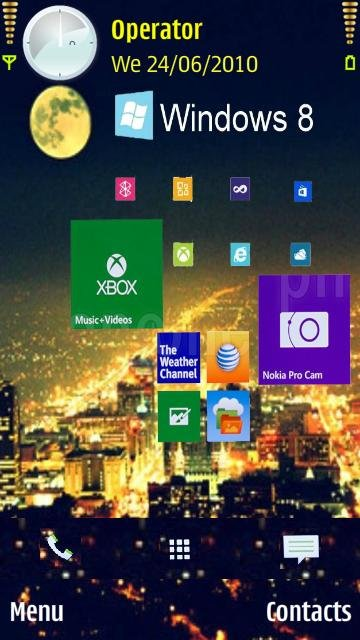 Windows 8 city - скриншот 1