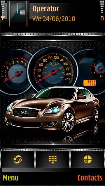 Car speedometer - скриншот 1