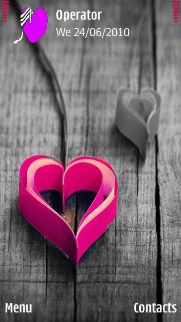 Pink heart - скриншот 1