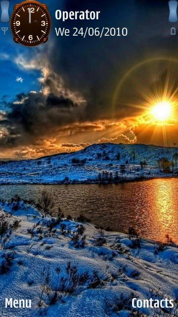 Sunset lake - скриншот 1