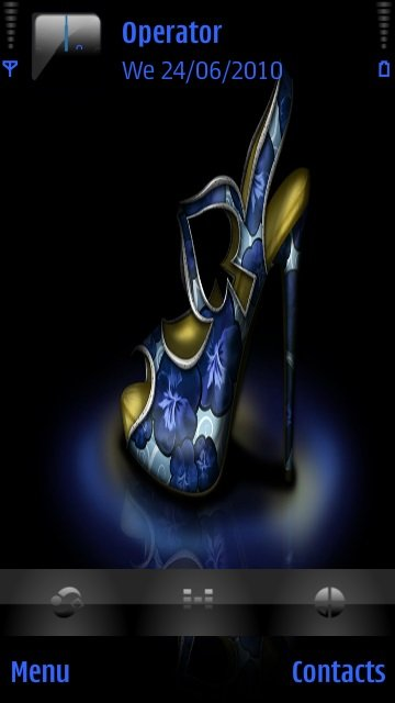 Blue shoe - скриншот 1