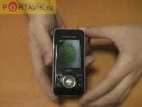 Видео обзор Sony Ericsson S500i от Portavik.ru
