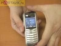 Видео обзор Vertu Constellation Black Leather от Portavik.ru