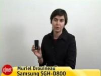 Видео обзор Samsung SGH-D800 от CNETfrance.fr