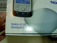 Видео обзор Nokia 6110 Navigator