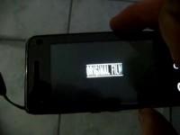 Демонстрация работы видео на Samsung F490