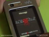 Sony Ericsson W880i - Интерфейс