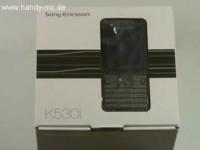 Sony Ericsson K530i - Распаковываем коробку