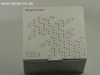 Sony Ericsson T250i - Распаковываем коробку