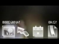 Промо видео Sony Ericsson G700
