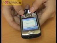 Видео-обзор Palm Treo 750v
