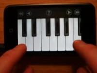 Виртуальное пианино для Apple iPhone