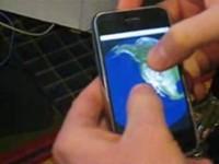 iPhone Earth - трехмерная модель Земли