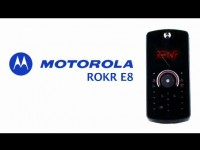 Промо видео Motorola ROKR E8