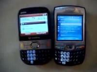 Видео обзор Palm Treo 500 от CellulareMagazine.it