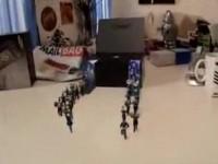 Прикольное видео с участем Samsung Omnia