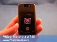 Видео обзор Motorola W755 от PhoneScoop