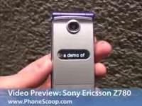 Видео обзор Sony Ericsson Z780 от PhoneScoop