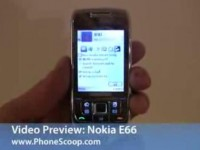 Видео обзор Nokia E66 от PhoneScoop