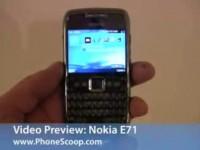 Видео обзор Nokia E71 от PhoneScoop