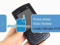 Видео обзор i-mate Ultimate 8150 от PhoneArena