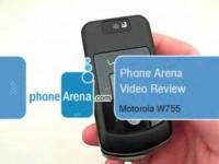 Видео обзор Motorola W755 от PhoneArena