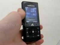 Видео обзор Samsung F110 Adidas