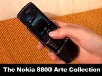 Видео обзор Nokia 8800 Sapphire Arte от Shiny
