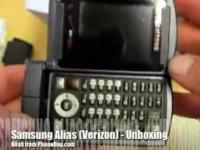 Видео обзор Samsung Alias