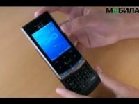 LG, KF755 , смартфон, мобильный, видео, обзор.