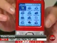 Видео обзор Palm Centro Ruby Red от cNet