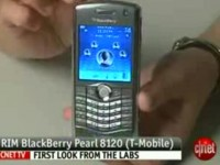 Видео обзор BlackBerry Pearl 8120 от cNet