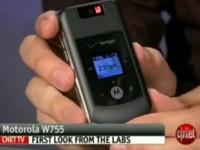 Видео обзор Motorola W755 от cNet