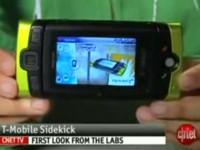 Видео обзор T-Mobile Sidekick от cNet