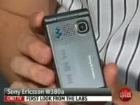 Видео обзор Sony Ericsson W380i от cNet