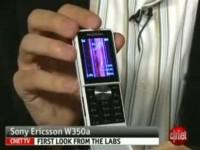 Видео обзор Sony Ericsson W350i от cNet