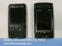 Видео обзор i-mate Ultimate 8502 и i-mate Ultimate 9502 от Phonescoop.com