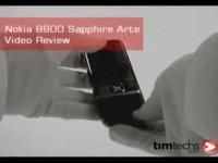 Видео-обзор Nokia 8800 Sapphire Arte