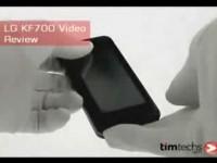 Видео обзор LG KF700 от Timtech.com