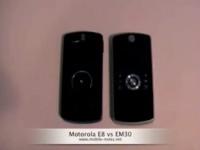 Видео обзор Motorola E8 vs EM30